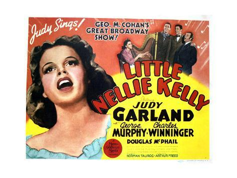 Little Nellie Kelly - Lobby Card Reproduction Art Print
