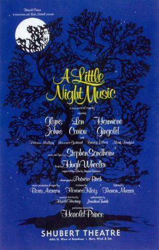 Little Night Music, A (Broadway) マスタープリント