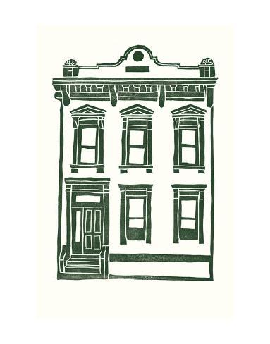 Williamsburg Building 1 (Manhattan Ave. between Jackson and Withers) Art Print