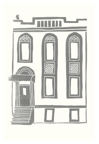 Williamsburg Building 2 (199 Maujer Street) Art Print