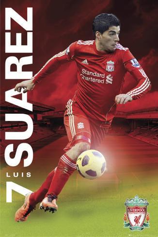 Liverpool-Suarez Poster