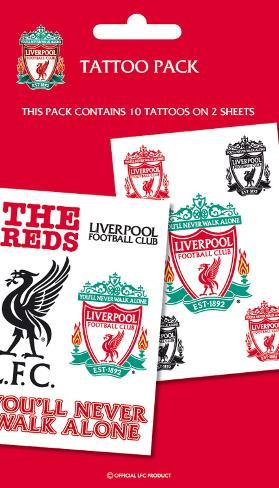 Liverpool Temporary Tattoos Temporary Tattoos