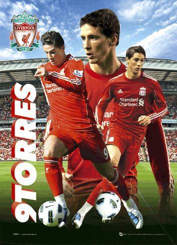 Liverpool - Torres 10/11 3 Dimensional Poster