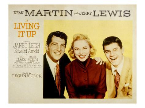 Living it Up, Dean Martin, Janet Leigh, Jerry Lewis, 1954 Photo
