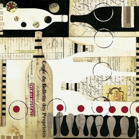 Deco Vino Art Print