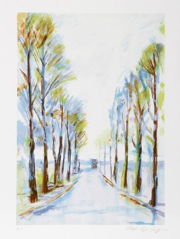 French Road Collectable Print