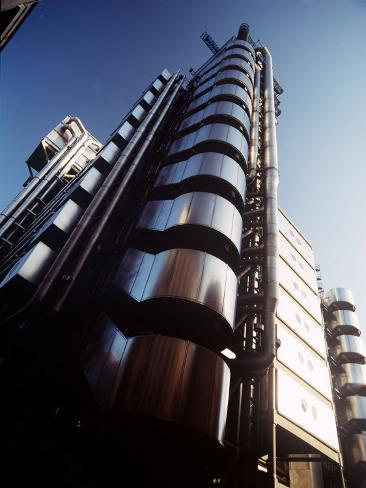 Lloyds of London Building Photographic Print