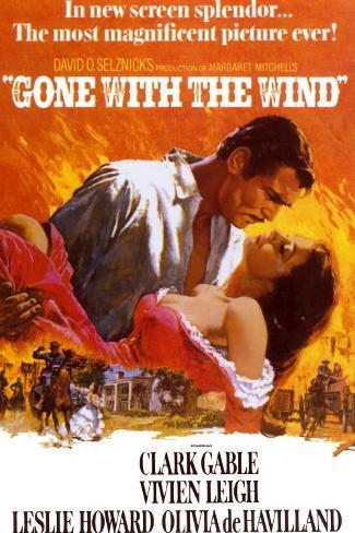 Lo que el viento se llevó|Gone with the Wind Lámina