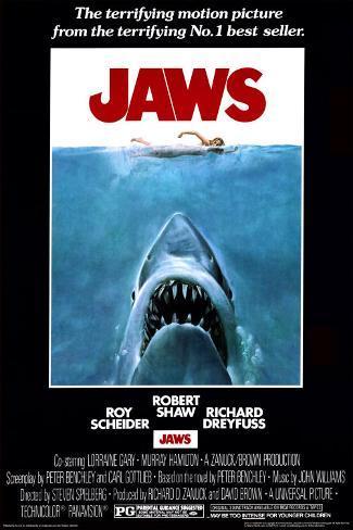 Lo squalo Poster