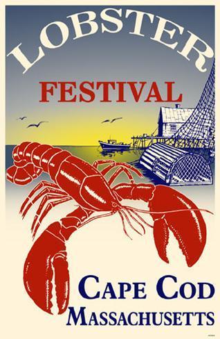 Lobster Festival Cape Cod Masterprint