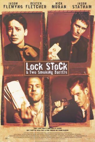 Lock Stock and 2 Smoking Barrels Masterprint