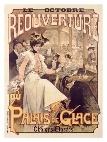 Palais de Glace, Reoverture Giclee Print
