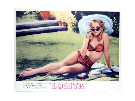 Lolita - Lobby Card Reproduction Lámina