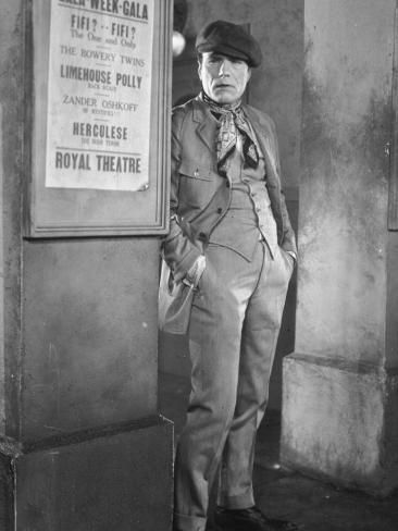 Lon Chaney: L'Oiseau Noir (The Blackbird), 1926 Photographic Print