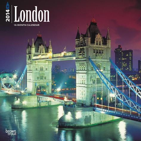 London - 2014 Calendar Calendari