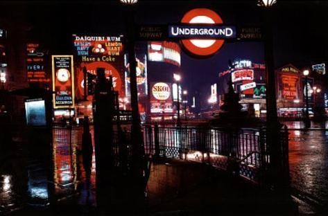 London (At Night, 1967, Huge) Art Poster Print Giant Poster