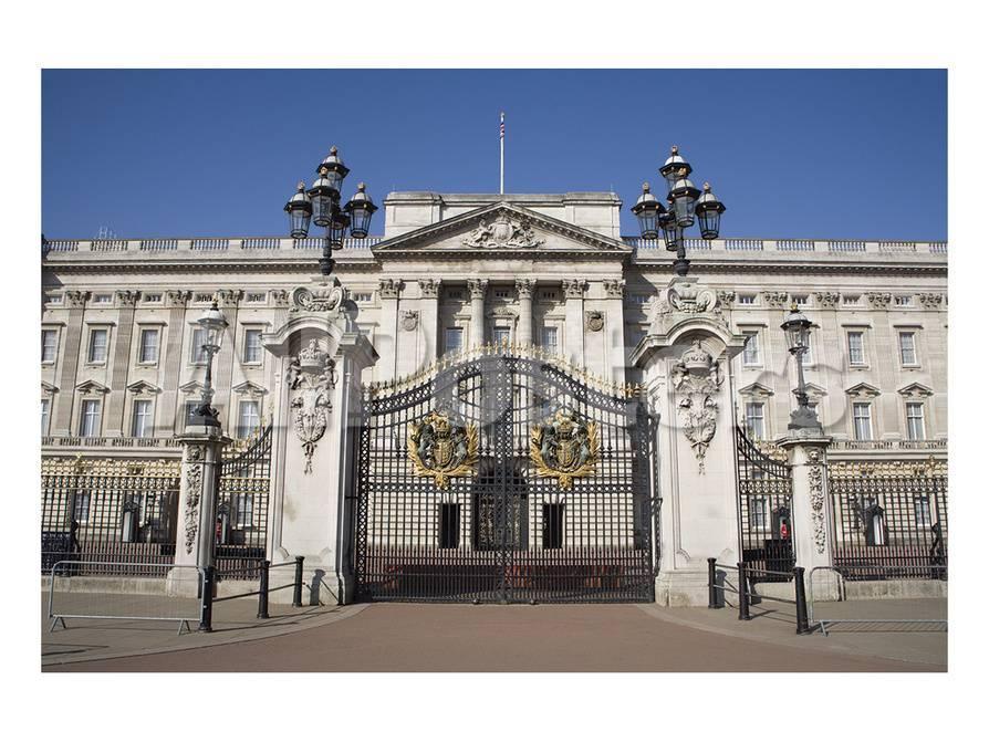 オールポスターズの london buckingham palace gate ポスター