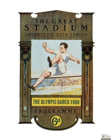 London Olympics, 1908 Art Print