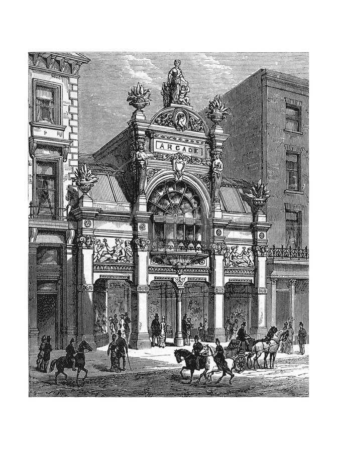 b8ad0bb25fa London's Old Bond Street Arcade Giclee Print at AllPosters.com