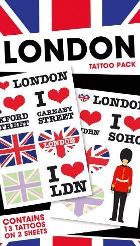 London Temporary Tattoos Temporary Tattoos