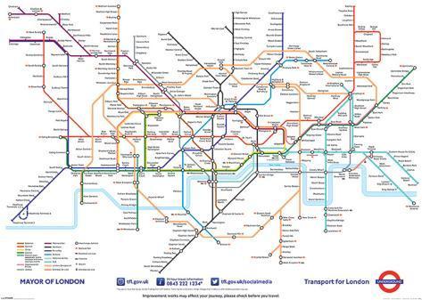 london underground map 2013