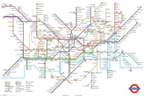 London Underground Map Print AllPosterscouk