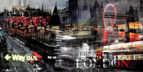 London Way Out Art Print