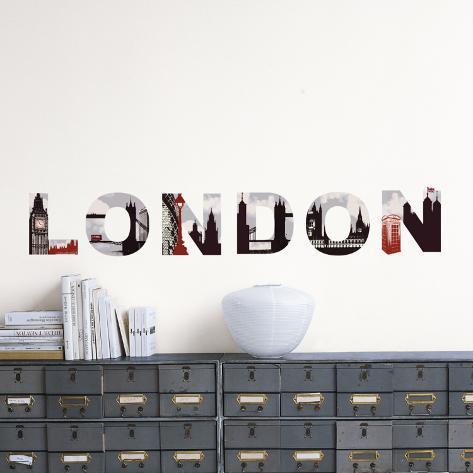 London Wall Decal