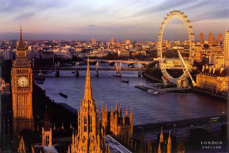Londres, Inglaterra Póster en AllPosters.es