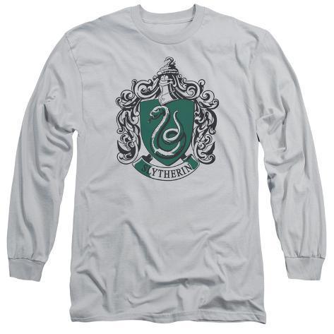 Long Sleeve: Harry Potter- Slytherine Crest Long Sleeves