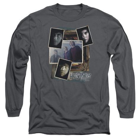 Long Sleeve: Harry Potter- Trio Collage Long Sleeves