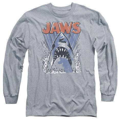 Long Sleeve: Jaws - Comic Splash Long Sleeves
