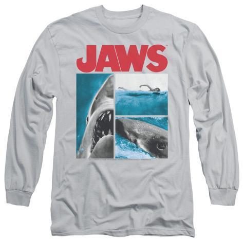 Long Sleeve: Jaws - Instajaws Long Sleeves
