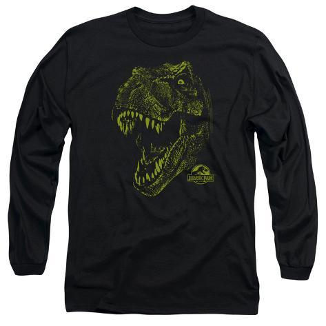 Long Sleeve: Jurassic Park - Rex Mount Long Sleeves