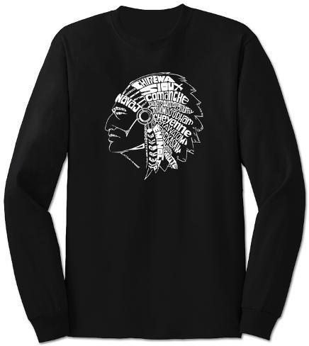 Long Sleeve:  Native American Indian Long Sleeves