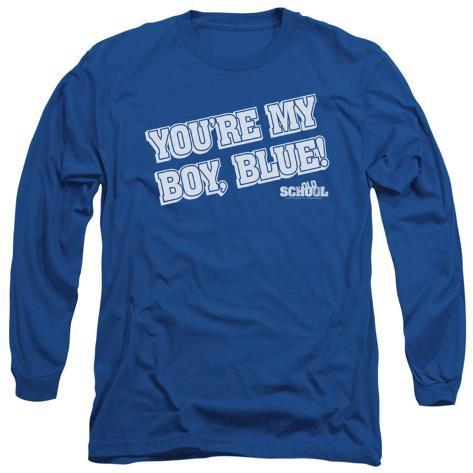 Long Sleeve: Old School - My Boy Blue Long Sleeves