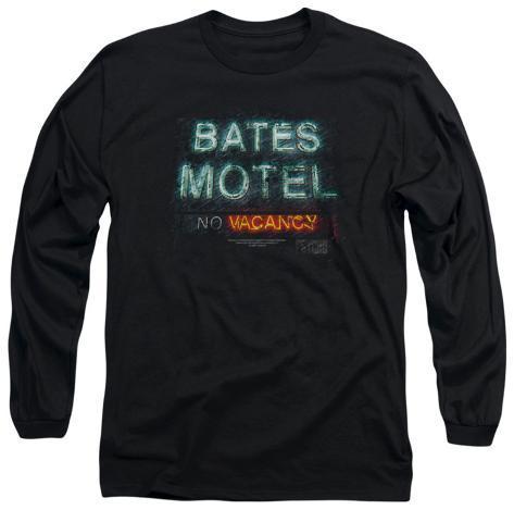 Long Sleeve: Psycho - Bates Motel Distressed Long Sleeves