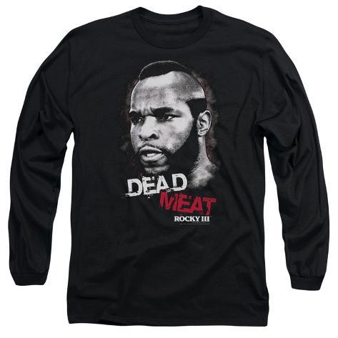 Long Sleeve: Rocky III - Dead Meat Long Sleeves
