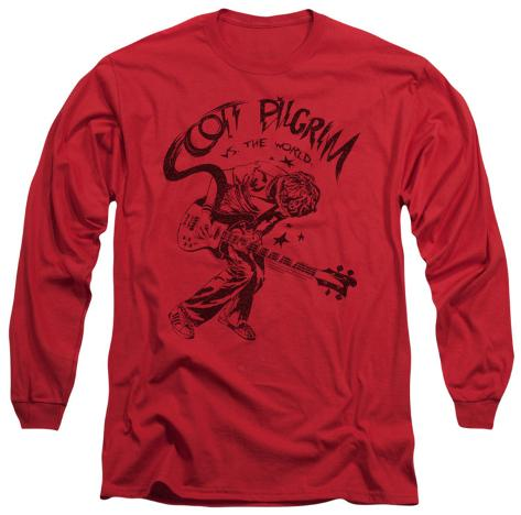 Long Sleeve: Scott Pilgrim - Rockin Long Sleeves