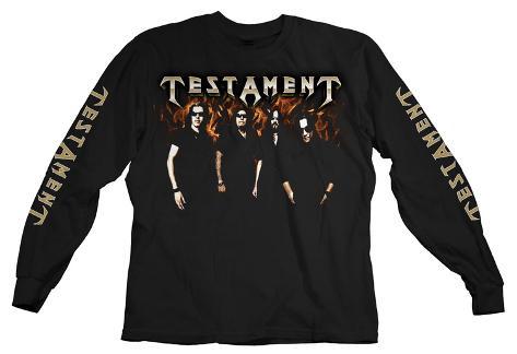 Long Sleeve: Testament - Logo Photo Long Sleeves