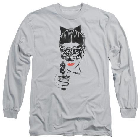 Long Sleeve: The Dark Knight Rises - Cat Gun Longsleeve Shirt