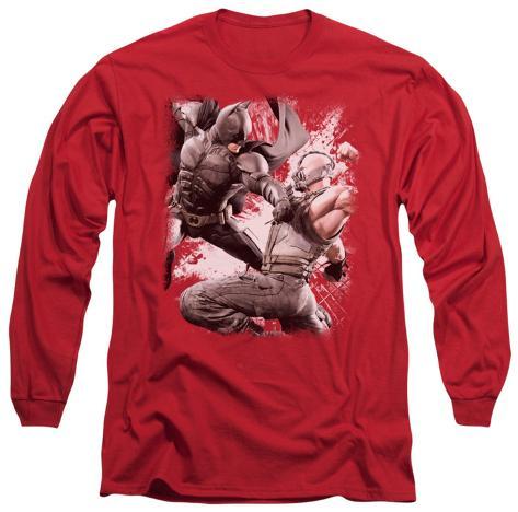 Long Sleeve: The Dark Knight Rises - Final Fight Longsleeve Shirt