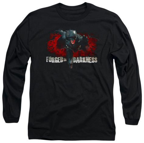 Long Sleeve: The Dark Knight Rises - Forged in Darkness Longsleeve Shirt