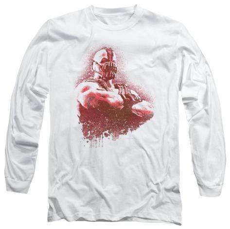 Long Sleeve: The Dark Knight Rises - Spray Bane Longsleeve Shirt