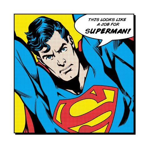 Looks Like a Job for Superman Art Print