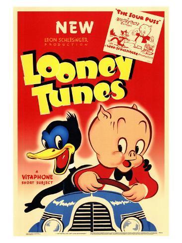 Looney Tunes, 1940 Art Print
