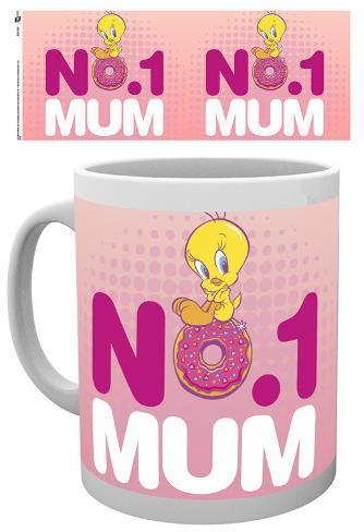 Looney Tunes Number One Mum Mother's Day Mug Mug