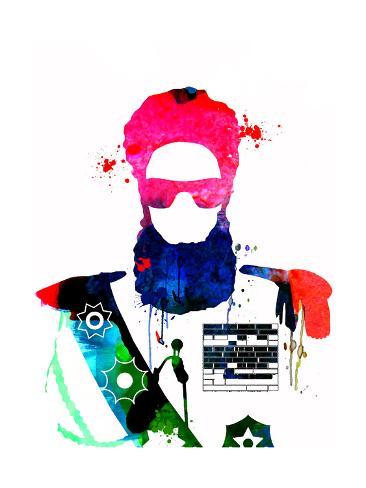 Dictator Watercolor 2 Lámina