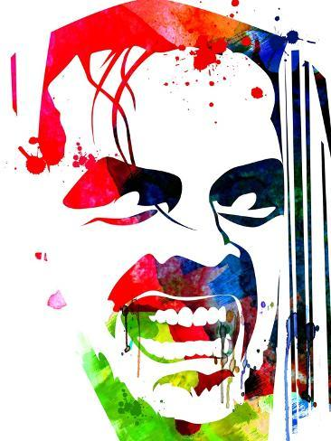 The Shining Watercolor Art Print