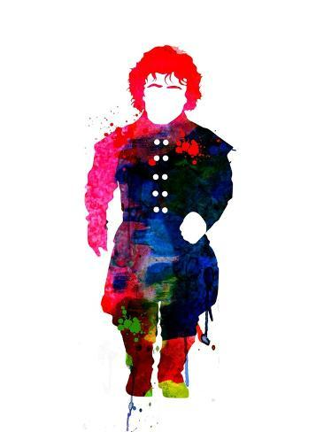 Tyrion Watercolor Premium Giclee Print
